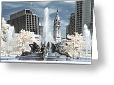 Logan Fountain Greeting Card