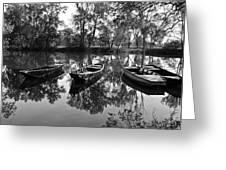 Loire River Boats Greeting Card
