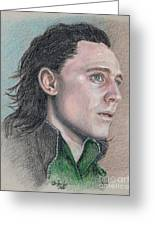 Loki From The Avengers Greeting Card
