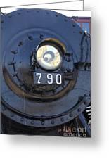 Lokomotive No 790 - Illinois Central Greeting Card