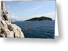 Lokrum From  Buza Greeting Card