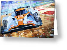Lola Aston Martin Lmp1 Racing Le Mans Series 2009 Greeting Card