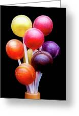 Lollipop Bouquet Greeting Card