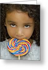 Lollipop Greeting Card
