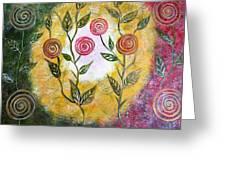 Lollipop Flowers Greeting Card