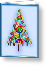 Lollipop Tree Greeting Card