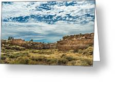 Lomaki Pueblo In Box Canyon Greeting Card