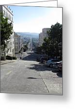 Lombard Street. San Francisco 2010 Greeting Card