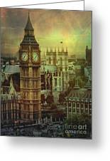 London - Big Ben Greeting Card