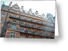 London Apartments Greeting Card