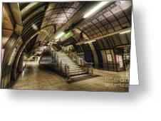 London Bridge Station 1.0 Greeting Card