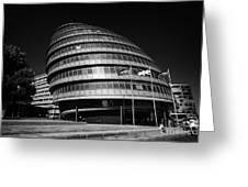 London City Hall England Uk Greeting Card