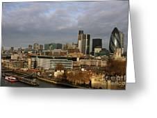 London Egg Greeting Card