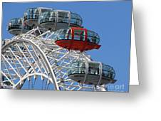 London Eye 5339 Greeting Card