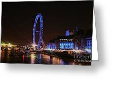 London At Night Greeting Card