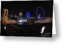 Downtown London Greeting Card