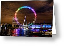 London Eye Pride Greeting Card