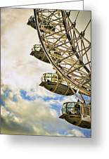 London Eye View Greeting Card