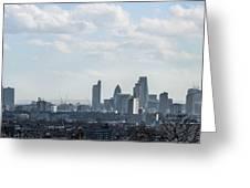 London Panorama Greeting Card