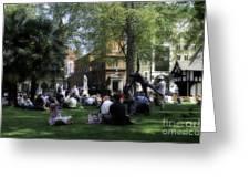 London Park Greeting Card