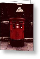 London Post Box Greeting Card