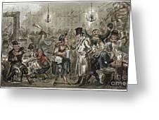 London: Slum, 1821 Greeting Card