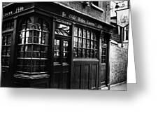 London: Tavern Greeting Card