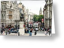 London Whitehall Greeting Card