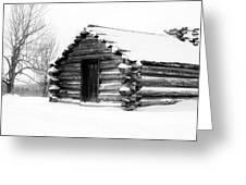 Lone Cabin Greeting Card