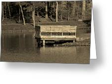 Lone Dock Greeting Card