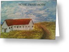 Lone Home Greeting Card