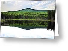 Lone Lake Greeting Card