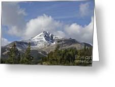 Lone Mountain Peak Greeting Card
