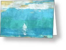 Lone Sail Greeting Card