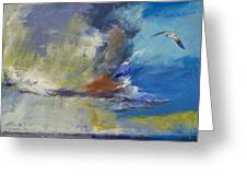 Loneliness Greeting Card by Michael Creese