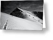 Lonely Climber Greeting Card