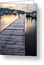 Lonely Dock Greeting Card