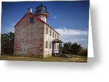 Lonely East Point Lighthouse Greeting Card