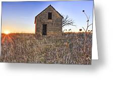 Lonely Homestead Greeting Card