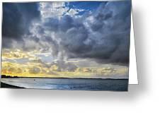 Lonely Kayak Greeting Card