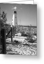 Lonely Light House  Greeting Card
