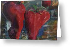 Lonely Peppers Greeting Card