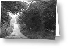Lonesome Road Greeting Card