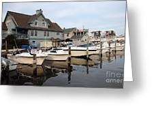 Long Beach Island Living Greeting Card by John Rizzuto