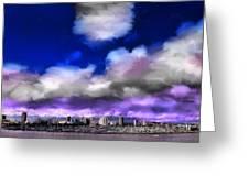 Long Beach View Greeting Card
