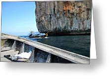 Long Boat Tour - Phi Phi Island - 0113124 Greeting Card