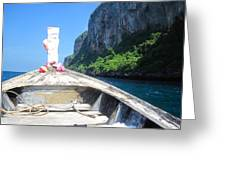 Long Boat Tour - Phi Phi Island - 0113157 Greeting Card