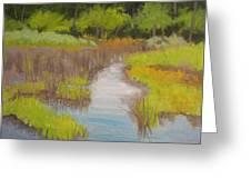 Long Creek Marsh Greeting Card