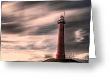 Long Exposure Lighthouse Greeting Card