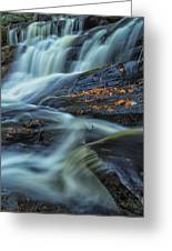 Long Exposure Of Little High Falls Greeting Card